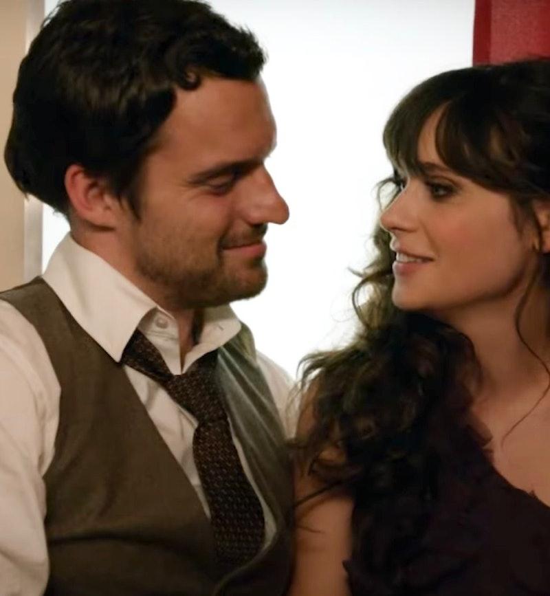Plan a fun date night at home, like Jess and Nick.