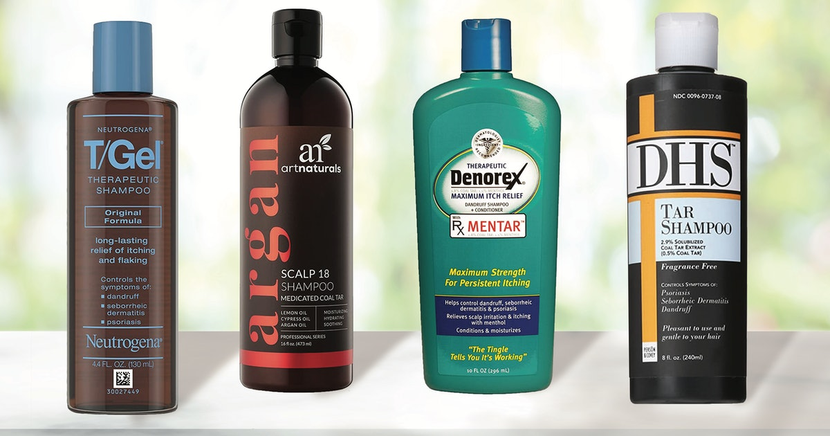 If You're Experiencing Dandruff Or Scalp Psoriasis, These Derm-Recommended Coal Tar Shampoos Can Help