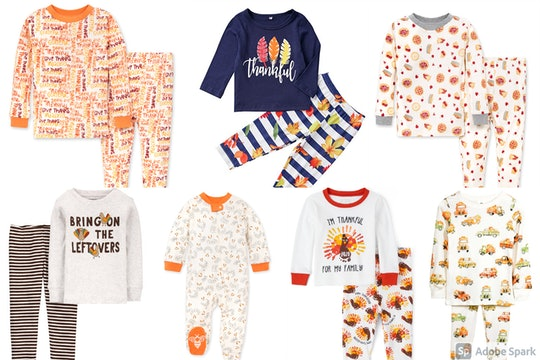 Your little ones can be extra festive on Turkey Day with these Thanksgiving pajamas for kids.