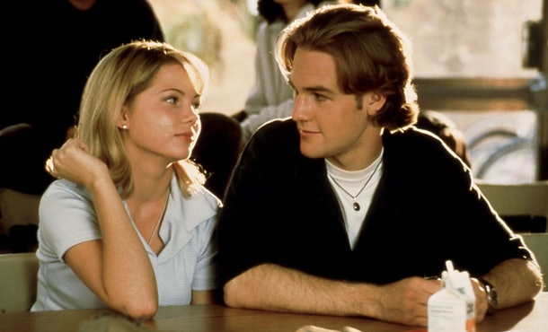 Dawson's necklace in 'Dawson's Creek' has a special meaning to James Van Der Beek.