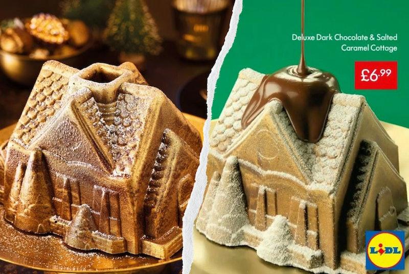 Lidl Melting Chocolate & Salted Caramel Cottage