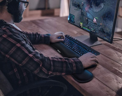 Gimars Keyboard Rest And Mouse Pad