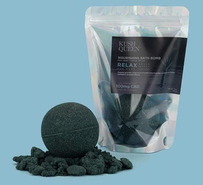 Black Magic CBD Bath Bomb