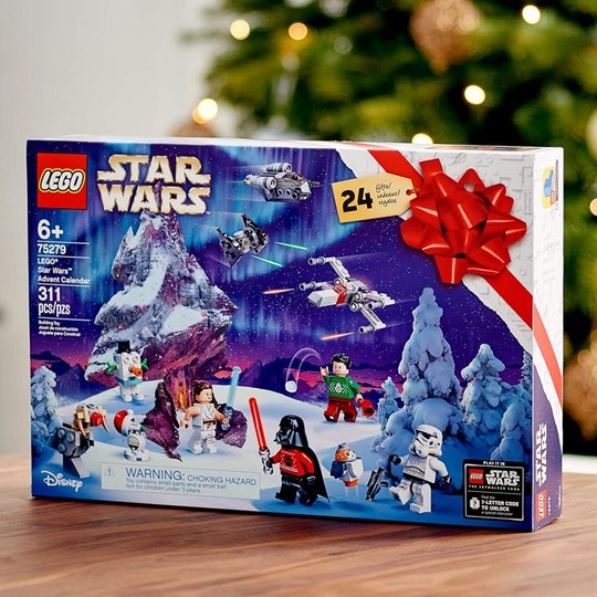 The 'Star Wars' LEGO Advent Calendar is a must for your kids.