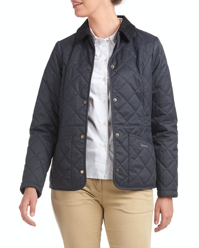 Huddleson Quilted Corduroy-Collar Jacket