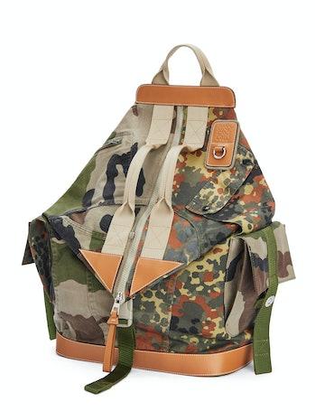 Eye/Loewe/Nature Patchwork Camo Backpack