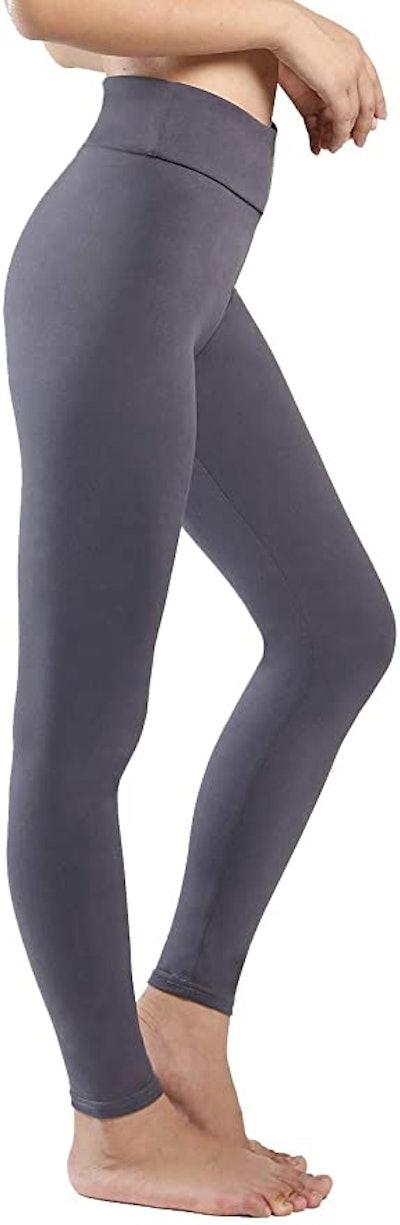 QYQ High Waisted Yoga Pants With Hidden Inner Pocket