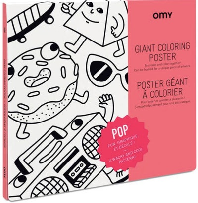 OMY Giant Coloring Poster (3+)