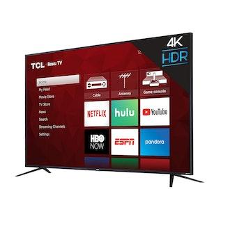 TCL 4K Smart LED TV, 65-Inch