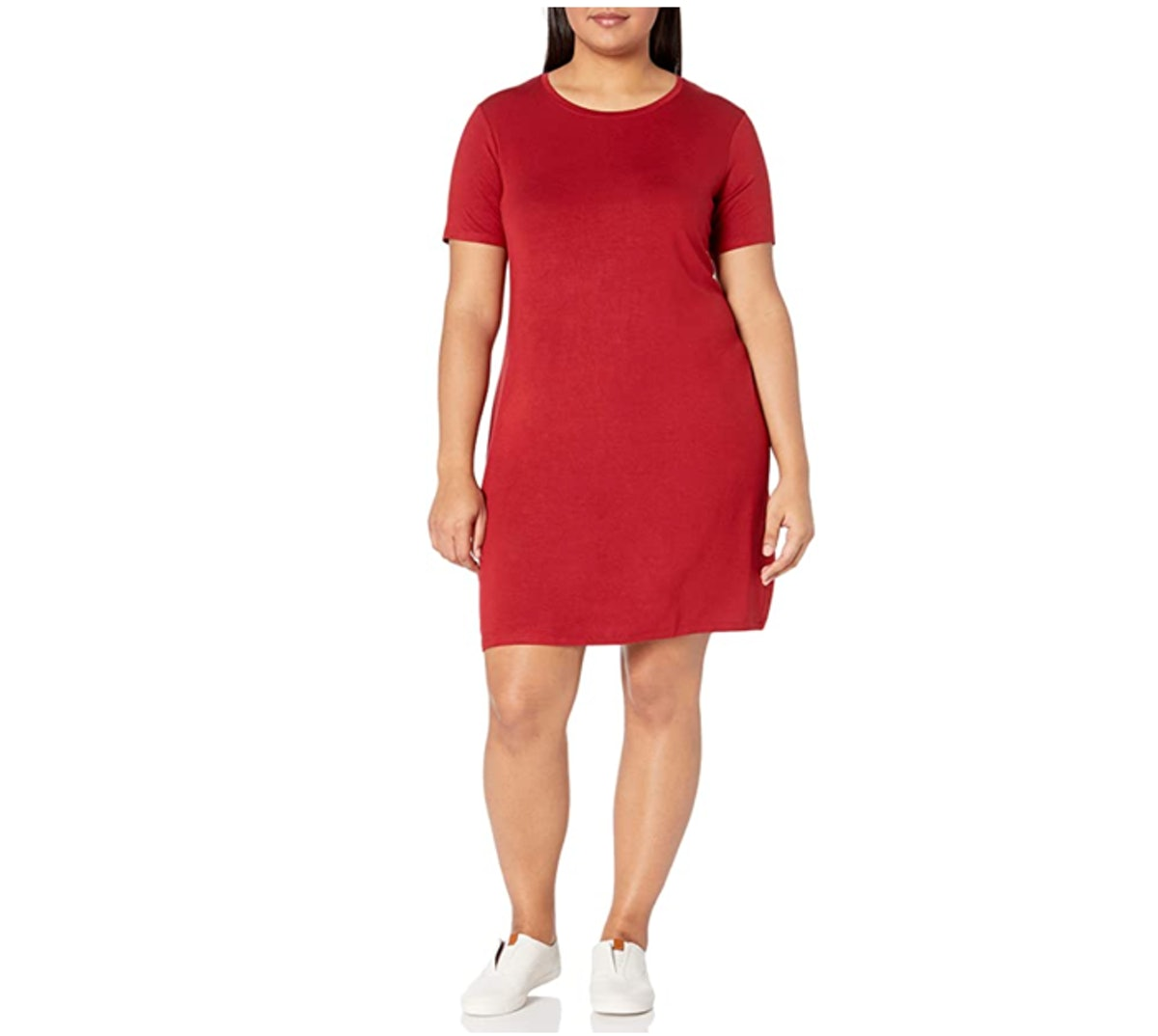 Daily Ritual Plus Size Scoop Neck Dress