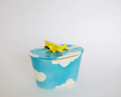 Airplane Mode Butter Dish