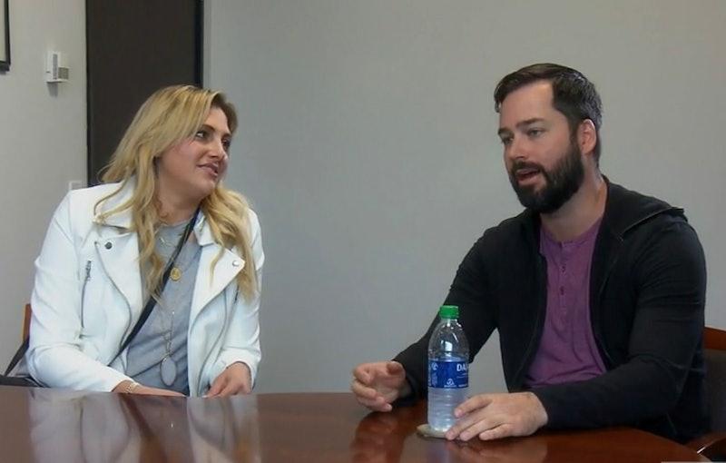 Gina Kirschenheiter & her boyfriend Travis Mullen on 'RHOC' Season 15