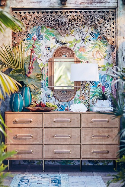 Anthropologie is a recommended as one of the best places to buy wallpaper online by many designers