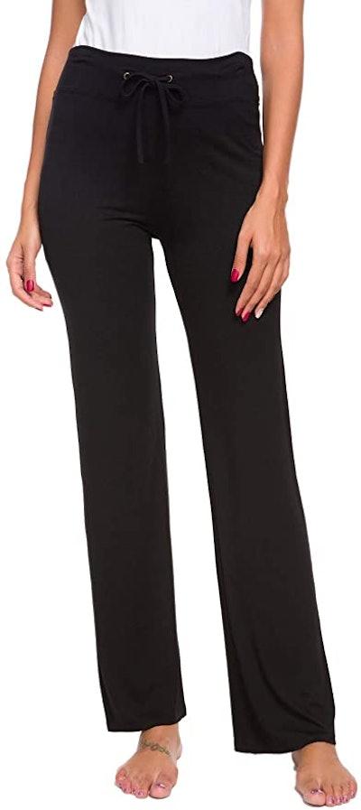 Adaniki Long Modal Comfy Drawstring Trousers