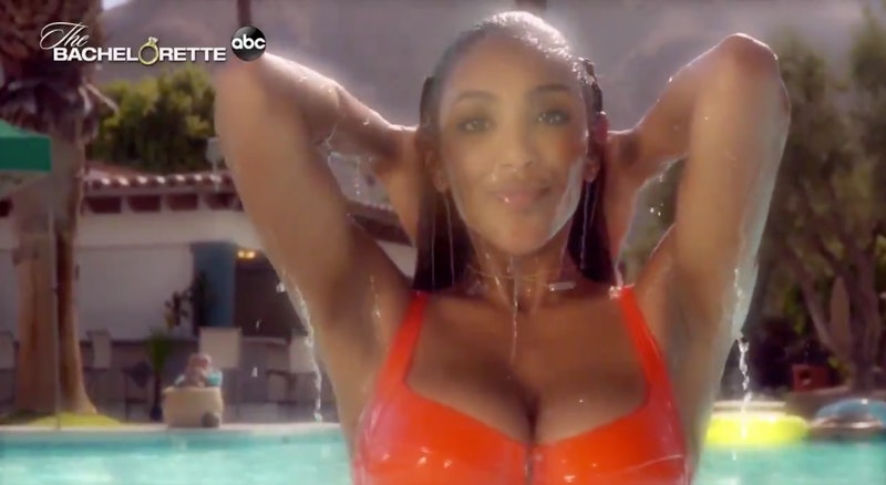 Tayshia Adams on 'The Bachelorette'