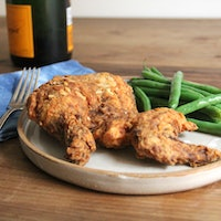 The science behind crunchy fried chicken