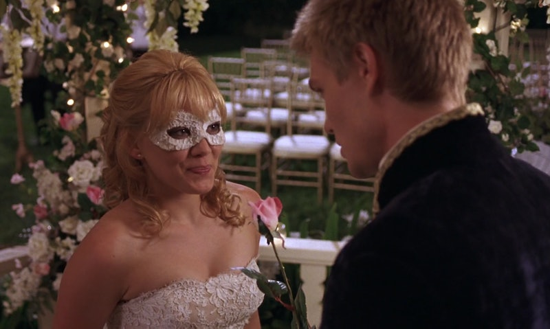 Hilary Duff and Chad Michael Murray in 'A Cinderella Story'