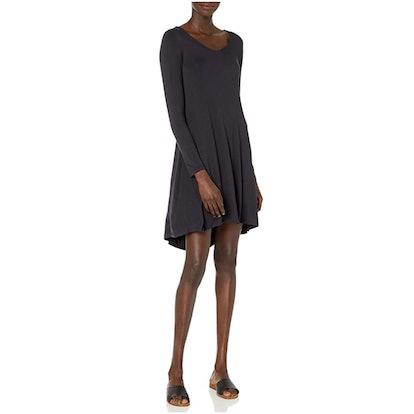 Daily Ritual Long Sleeve V-Neck Dress