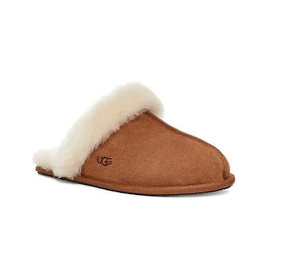 Ugg Scuffette II Suede Sheepskin Slippers