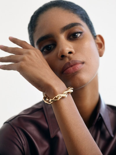Mejuri Le Chain Bracelet Gold Vermeil