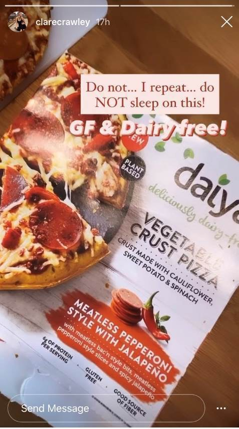 I Tried Vegan, Gluten-Free Pizza Like Clare Crawley