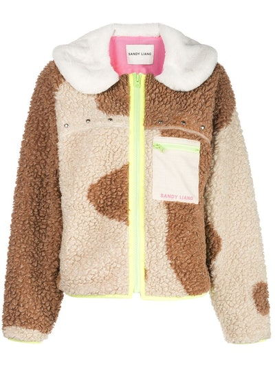Sandy Liang Bells Fleece Jacket