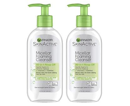 Garnier SkinActive Micellar Foaming Cleanser (2-Pack)