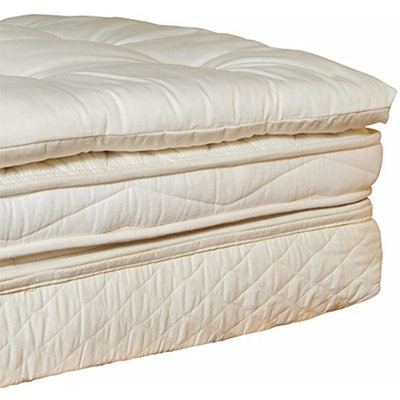 Holy Lamb Organics Wool Mattress Toppers (Queen)