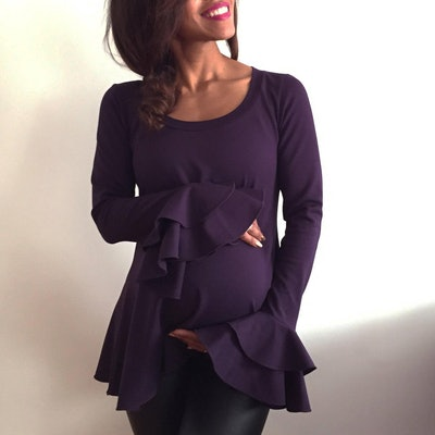 LaDiWithABaBy, Flare Sleeve Top
