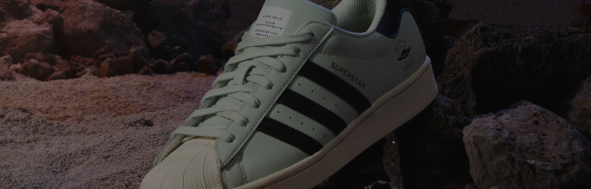 The Mandalorian Adidas The Child Superstar