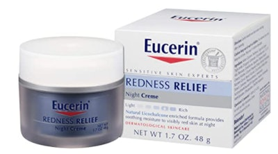 Eucerin Redness Relief Night Creme (1.7 Ounces)