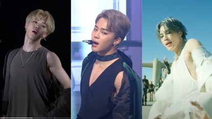 These Videos Of BTS' Jimin Exposing His Shoulder Will Make You Weak