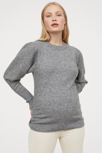 MAMA Fine-Knit Sweater