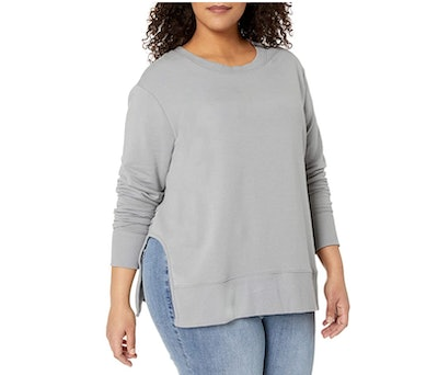 Daily Ritual Plus Size Side Cut Out Sweater