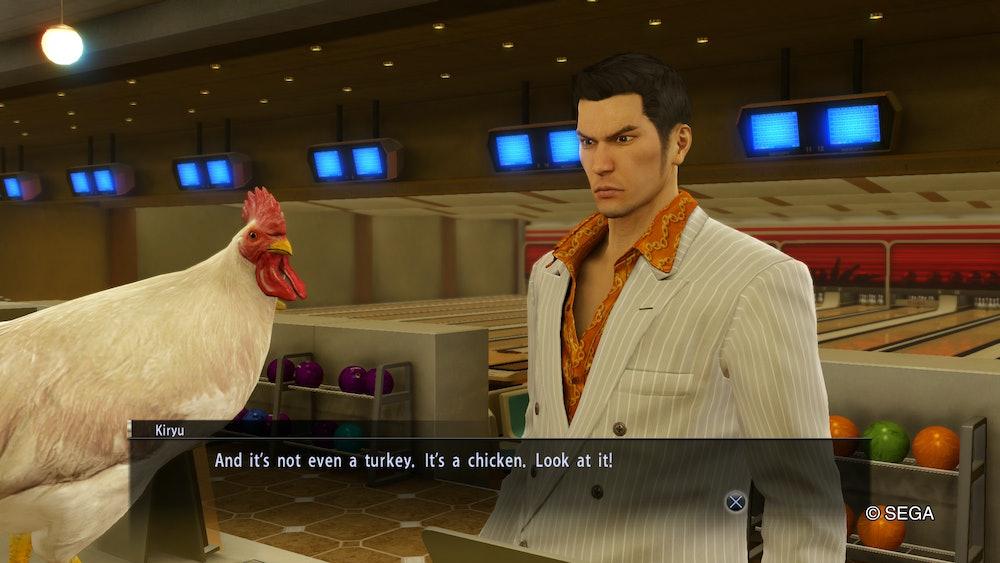 yakuza 0 chicken
