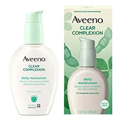 Clear Complexion Salicylic Acid Acne-Fighting Daily Face Moisturizer