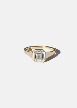 Asscher Diamond Cosma Ring