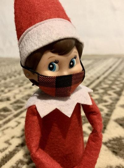 Elf on a Shelf COVID Mini Mask