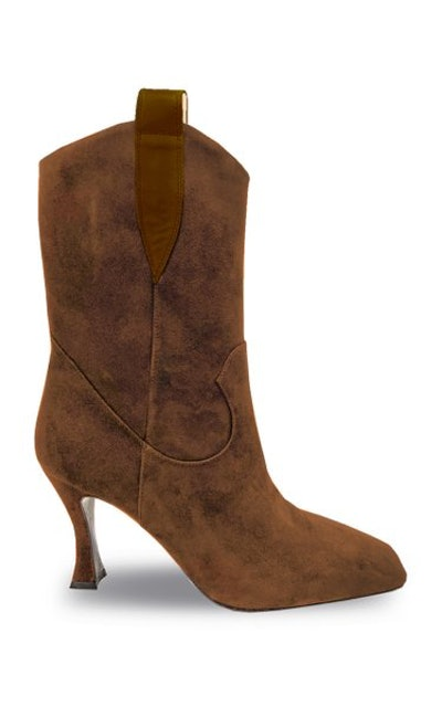 Sophia Chain Suede Boots
