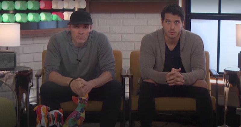 Cody and Enzo on Big Brother via a screenshot