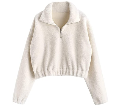 ZAFUL Half Zip Pullover