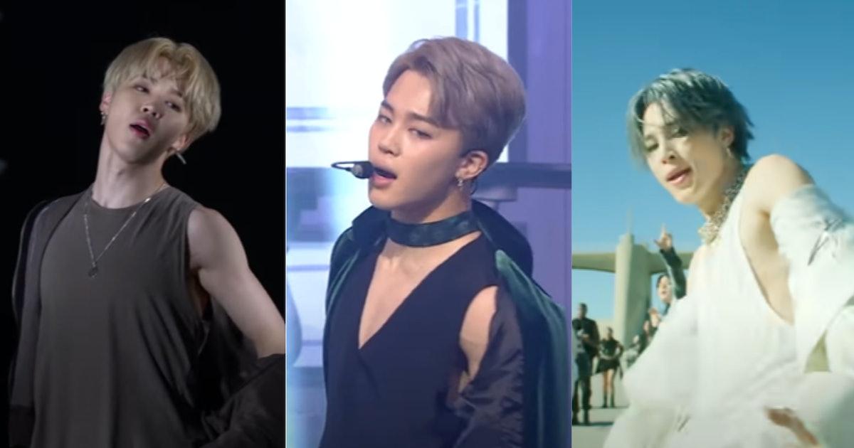 13 Videos Of BTS' Jimin Exposing His Shoulder That'll Make You Weak