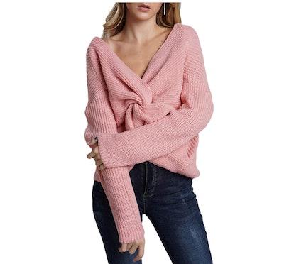 Ausun Criss Cross Sweater