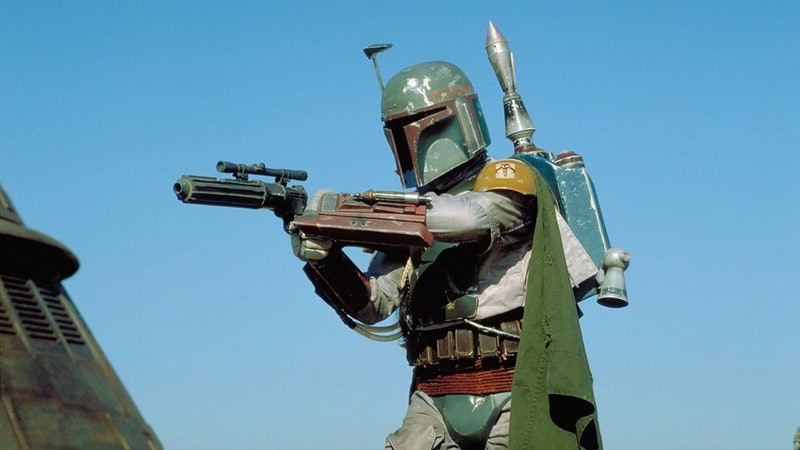 Boba Fett in 'Return of the Jedi'