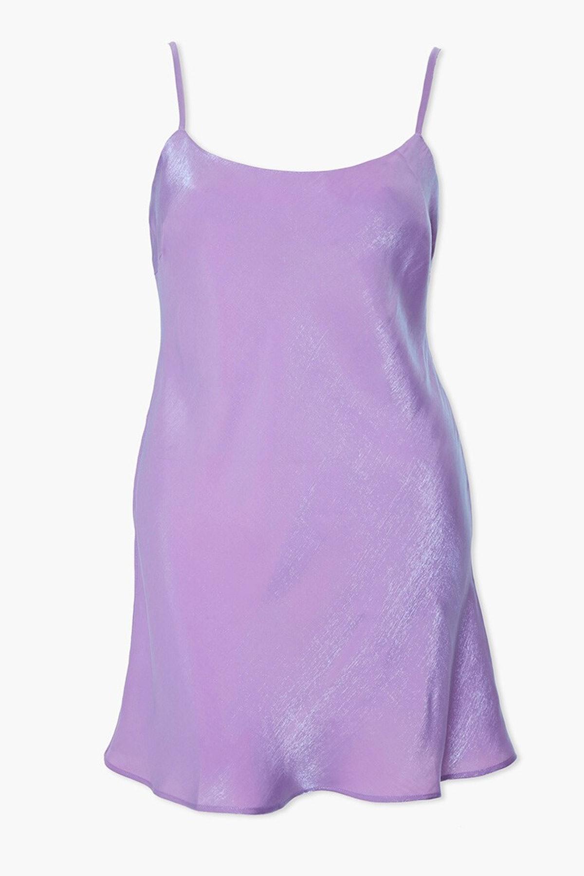 Forever 21 Plus Size Satin Cami Dress
