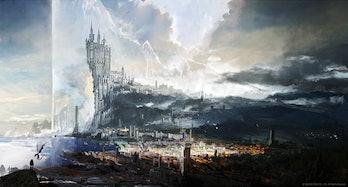 final fantasy 16 art kingdom