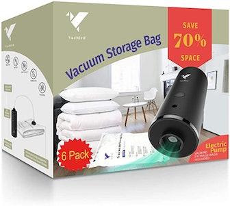 Vacbird Vacuum Storage Bags (6-Pack)