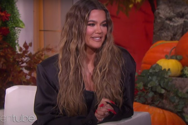 Khloe Kardashian appears on The Ellen DeGeneres Show.