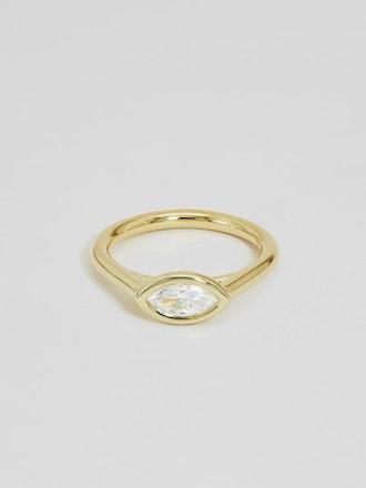 Dahlia Marquise Ring