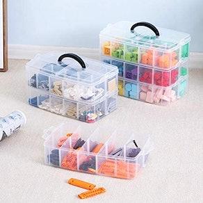 Sooyee 3-Layer Things & Crafts Storage Box